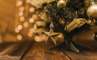 Belles et lumineuses fêtes de fin d'année